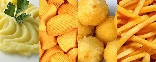 Линия для производства картофельных хлопьев