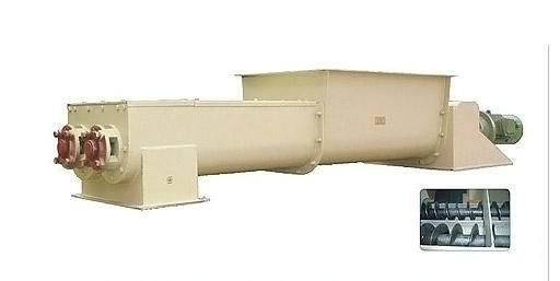 Двухвальный шнековый транспортер