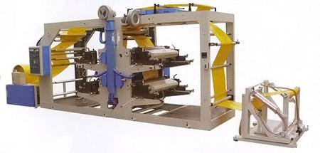 Флексографический станок для 4-цветной печати