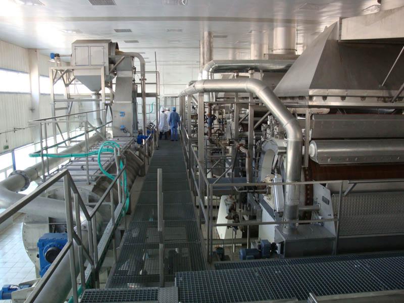 Цех по производству модифицированного крахмала