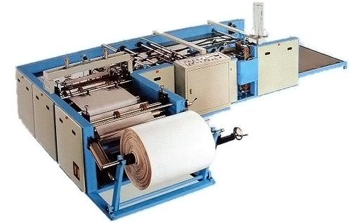 Станок для пошива и резки рукава на отдельные мешки