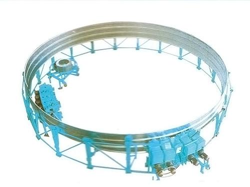 Монтаж емкостей разного диаметра и высоты